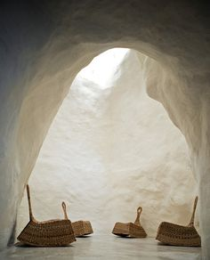 Casa Talia Modica Sicily by Marco Giunta and Viviana Haddad. Baroque Interiors Cave and Chair Interior Architecture, Interior And Exterior, Organic Architecture, Famous Architecture, Light Architecture, Interior Design, Interior Decorating, Eco Construction, Architecture Organique