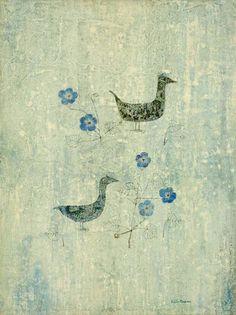 Keiko Minami, 花と二羽の鳥