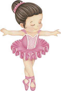 Kids Cartoon Characters, Cartoon Pics, Girl Cartoon, Ballerina Cartoon, Little Ballerina, Ballerina Coloring Pages, Disney Coloring Pages, Ballerina Birthday Parties, Ballerina Party