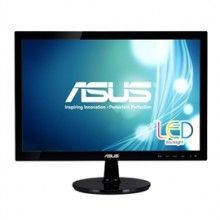 Asus LCD VS197T-P LED Backlight 18.5inch Wide 5ms 50000000:1 1366x768 HDCP DVI-D Speaker - Cirtric
