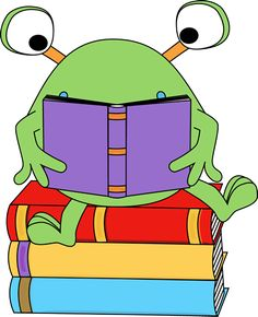 Two-Eyed Monster Reading a Book Clip Art - Two-Eyed Monster Reading a Book Image Cartoon Monsters, Cute Monsters, Book Clip Art, Book Art, Monster Theme Classroom, Monster University Party, Monster Clipart, Monster Board, Animal Crafts For Kids