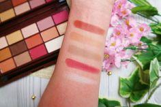 Makeup Revolution Chocolate Elixir Eyeshadow Palette - Swatches