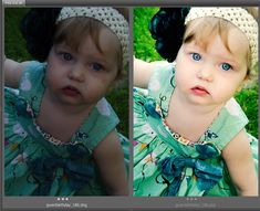 Photo Editing from poor exposure to pretty :)