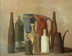Still Life; Morandi (from thewalkupblog)