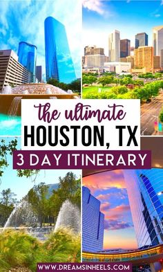 Searching for the best 3 days in Houston itinerary? In this post, a Houstonian shares how to experience the best of Houston in 3 days. What to see, do & eat Texas Roadtrip, Texas Travel, Usa Travel Guide, Travel Usa, Travel Tips, Visit Houston, Houston Tx, Texas Things, Things To Do