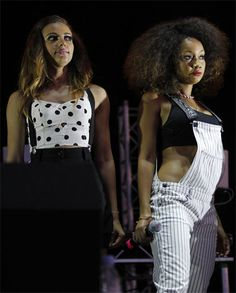 Little Mix perform at Newmarket