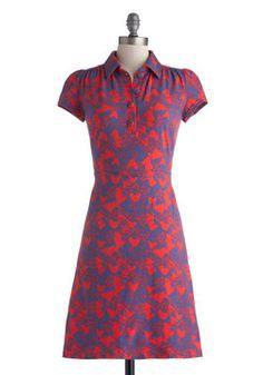 Museum Cafe Dress, #ModCloth