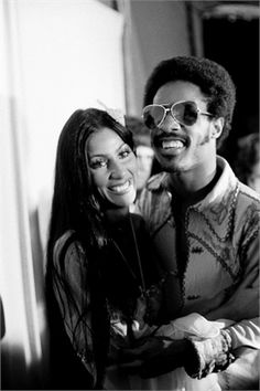 Stevie Wonder and Cher 1973, Los Angeles