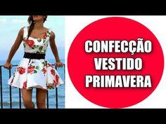 Confecção Do Vestido Inspiração Primavera - Tutorial - YouTube