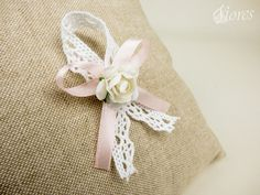 "Svadobné pierka ""Romanca"" Wedding Bows, Diy Wedding, Craft Stick Crafts, Diy And Crafts, Diy Bow, Design Studio, Cotton Bag, Grafik Design, Corsage"