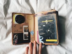 nearlycurtainss: my teeny journal pages …... - The Journal Club