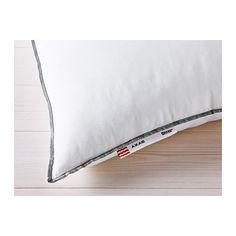 3,99€ X 2 AXAG Almohada firmeza media IKEA Esta almohada tiene menos relleno y es muy conveniente si quieres utilizar un soporte más fino.