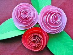 how to make beautiful paper roses