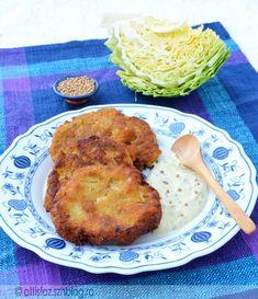 Sárgarépás-káposztás lepények Wok, Tandoori Chicken, Cabbage, Ethnic Recipes, Cabbages, Kale