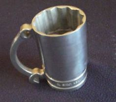 Socket mug great idea for coffee when working or relaxing in the garage or man cave
