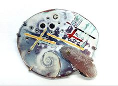 """KEN BOVA -USA """"He is a Past President of the Society of North American Goldsmiths (SNAG) with work in the permanent collections of the Smithsonian, Racine, Tacoma, and Georgia Art Museums among others"""" http://kenbova.com/home.html"""