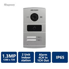 IP Water Proof Metal Villa Video Intercom Door Phone Station, 2-Unit For more information, please visit www.shopeazy.co.za Electronic Appliances, Intercom, Villa, The Unit, Indoor, Electronics, Phone, Metal, Water