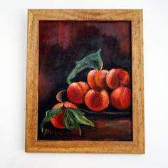 yağlı boya meyveler | oil painting fruits