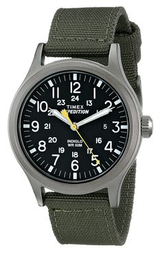"""Timex Men's T49961 """"Expedition Scout"""" Watch with Nylon Band"""