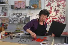DVD: ENCAUSTIC MONOTYPES: Painterly Prints with Heat and Wax - Paula Roland Workshops /The Open Studio, LLC