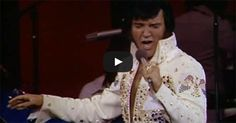 """Stunning performance of the song """"What Now My Love"""" from Elvis Presley's 1973 Aloha from Hawaii live broadcast."""