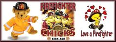 Firefighter Chicks made with images found online