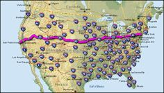 Take Highway 80 From Our Front Door To New York 60 Before 60 Pinterest Road Trips Buckets And Usa Roadtrip