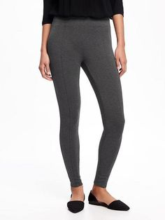 Mid-Rise Ponte-Knit Leggings for Women $29.94 ☆☆☆☆☆ ☆☆☆☆☆ 4.1 out of 5 stars. Read reviews. 4.1  (57) Write a review . This action will open a modal dialog. Black Friday Pre-Sale: 40% Off at Checkout Color: B65 DARK HEATHER GREY