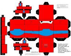 Baymax Cubeecraft
