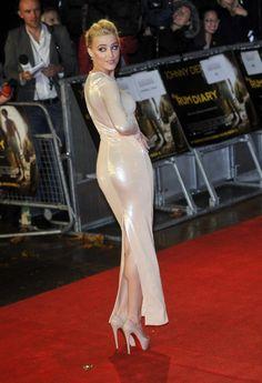 "Amber Heard – UK Premiere of ""The Rum Diary"""
