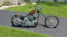 1980 Harley-Davidson Ironhead Chopper for sale via Rocker.co