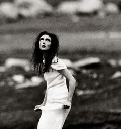 Magazine: Vogue Italia May 1997  Photographer: Steven Meisel  Model: Audrey Marnay. @thecoveteur