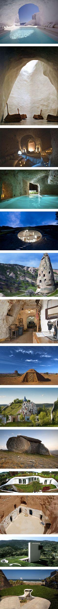 14 stunning underground homes