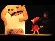 Grosse Faim de P'tit Bonhomme, Oiseau Manivelle, marionnettes maternelle...