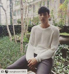 """152 Likes, 3 Comments - SungHoon&Roiii성훈서포트成勋ソンフン (@sunghoon1983_support) on Instagram: """"#sunghoon is very hot today #Repost @sunghoon1983 ・・・ 덥다... .. .. .. .. ..…"""""""