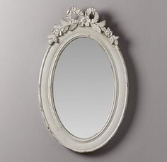 Beautiful, vintage-inspired mirror. $169 by willie