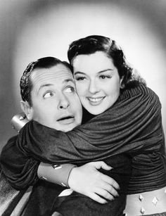 Robert Montgomery and Rosalind Russell, 1930s.