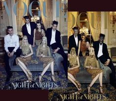 Prom Night! Cover Story Preview of Vogue Italia April 2012: CLICK on the image to see all the pictures, some are really moving!
