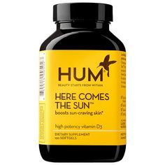 Here Comes The Sun Vitamin D Supplement Hum Nutrition Sephora Hum Nutrition Supplements Vitamin D Supplement