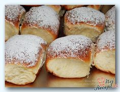 Czech Recipes, Croatian Recipes, Food And Drink, Cooking Recipes, Sweet, Breads, Cakes, Basket, Deserts