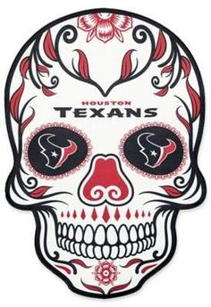 Embellish your outdoor space in strking fashion with the NFL Large Skull Outdoor Decal. Perfect for displaying your pro football team pride, this attention-grabbing skull graphic decal showcases the colors and logos of your favorite gridiron team. Nba Houston Rockets, Nfl Houston Texans, Dallas Cowboys, Pittsburgh Steelers, Nfl Dallas, Cincinnati Bengals, Denver Broncos, Nba Miami Heat, Nfl Cleveland Browns