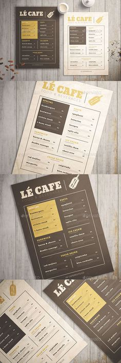 Buy Food Menu Vol. 01 by KMZVRLab on GraphicRiver. With easy to customized and well organized file, it helps you to edit the content of this flyer even in a short time! Menu Restaurant, Seafood Menu, Bakery Menu, Restaurant Menu Template, Western Food Menu, Japanese Menu, Japanese Design, Mexican Menu, Food Menu Template