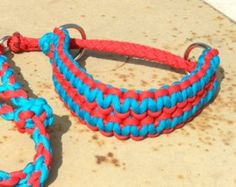 Agility Paracord Dog Collar/Leash Combo Size Small - Ready To Ship