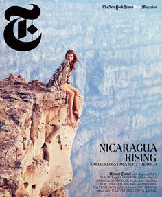Karlie Kloss Takes to Nicaragua for T Magazine s Winter 2012 Cover Shoot by Ryan McGinley Fashion Gone Rogue Karlie Kloss, Time Magazine, Magazine Covers, Winter Photography, Travel Photography, Fashion Photography, Inspiring Photography, Girl Photography, Blue Canoe