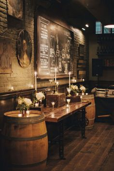 Chic Fall Brooklyn Winery Wedding Gallery - Style Me Pretty