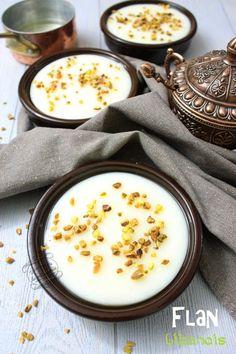 Le flan libanais ou mouhallabie, une recette facile, rapide et inratable ! #flan #libanais #recette #iletaitunefoislapatisserie