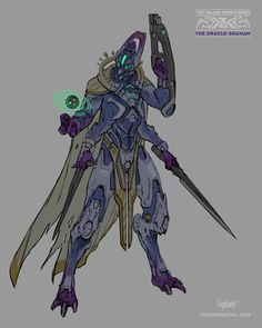 I am a huge fan of destiny so when I saw the Brainstorm challenge (32) to redesign a character from the game I had to do it! The anatomy was pushed to be more alien like while still being able to accommodate a second set of limbs. In my Destiny universe the fallen have regained their honor/Royal status but they have split into new tribes and gangs, far different from their ancient houses.