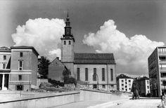 Deichmanske og Svenska Margaretakyrkan, ca. 1940