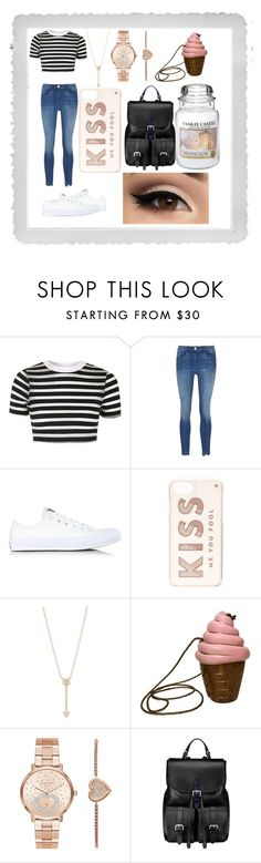 """""""Normal... 4 once"""" by richsavages ❤ liked on Polyvore featuring Polaroid, Topshop, Converse, Kate Spade, EF Collection, Timmy Woods, Michael Kors, Aspinal of London and Yankee Candle"""