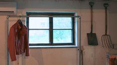 DIY vaaterekki teräsputkesta - Ohituskaistalla